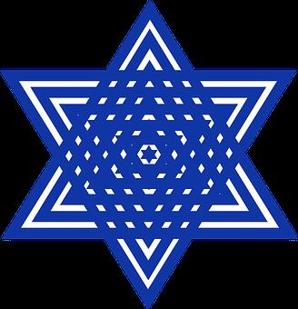 Graphic, Star, Star Of David, Jewish