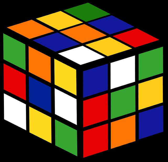 Simboli Anni 80.Graphic Rubik S Cube Game Free Vector Graphic On Pixabay