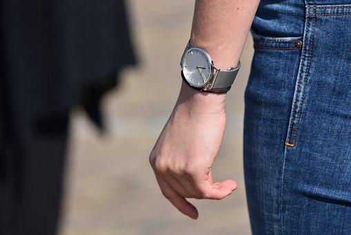 Hand, Finger, Wrist, Arm, Watch, Leg