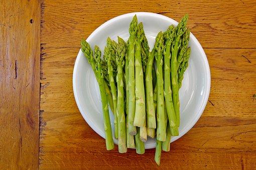 Green Asparagus, Food, Vegetables