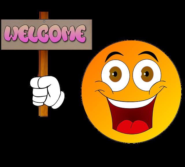 Cartoon Welcome Hello · Free image on Pixabay