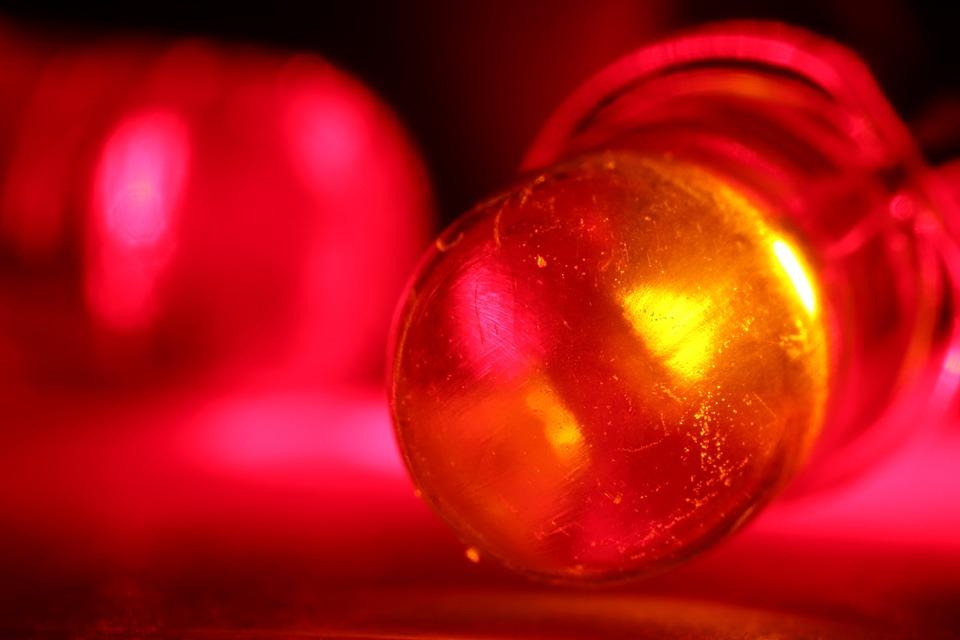 Red Led Light Emitting Diode Free Photo On Pixabay