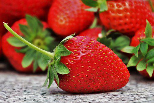 Strawberries, Fruit, Season, Eating