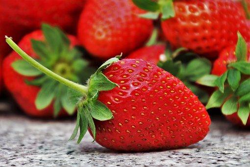 Fresas, Frutas, Temporada, Comer