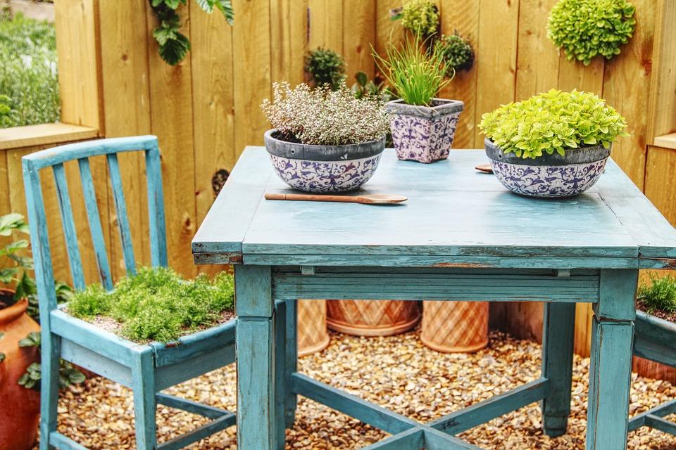 Tisch Stuhl Garten Kostenloses Foto Auf Pixabay