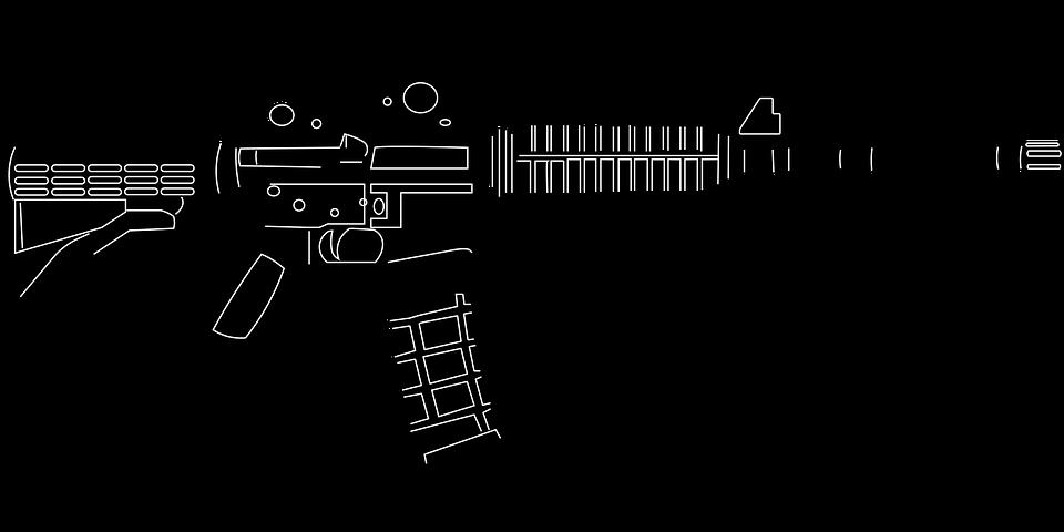m16 ライフル ar pixabayの無料ベクター素材
