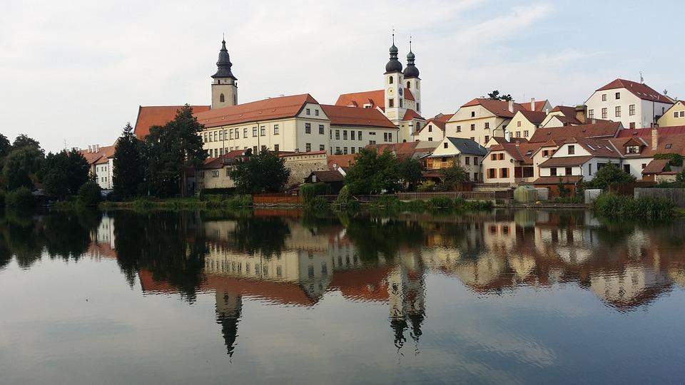 Telč, Czechia, Castle, Park, Summer, History, Monument