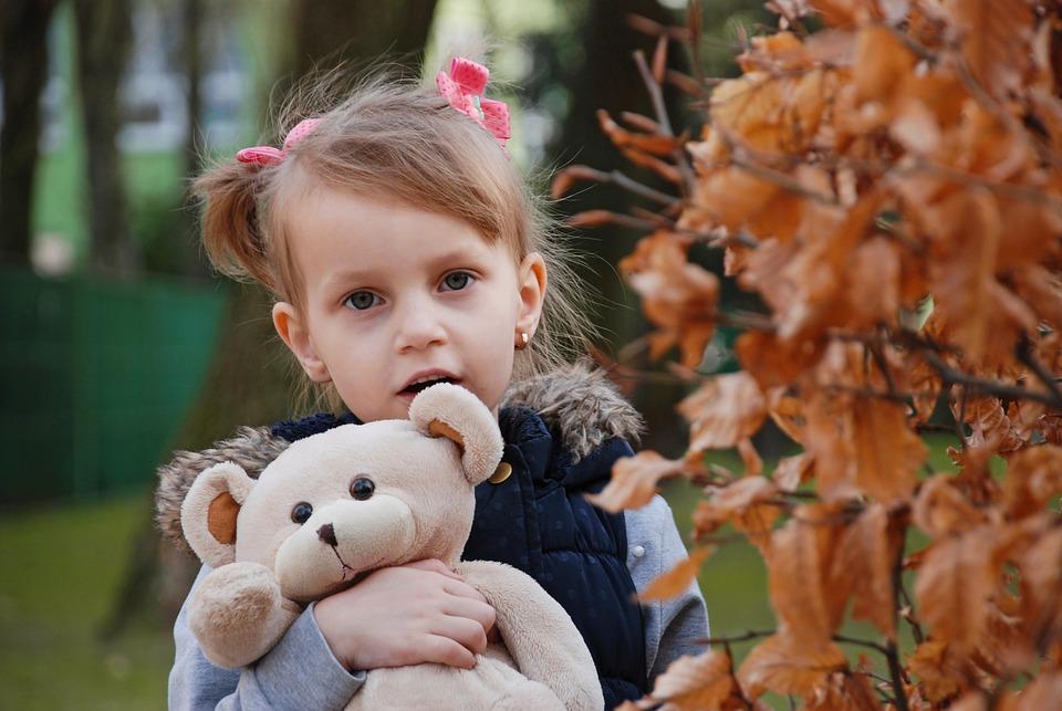 赤ちゃん, かわいい, 屋外で, 自然, 少し, 公園, 幸福, 肖像画, 喜び, ブルーイン, 子供, 休暇