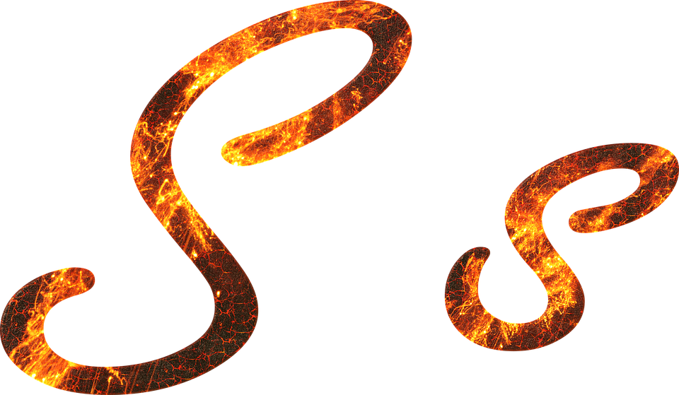Letter S Fire - Free image on Pixabay