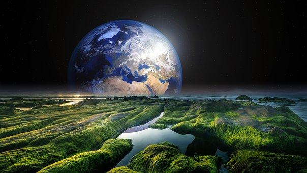 Solaris, 世界, 地球, ワット, 海, スペース, 自然, 惑星
