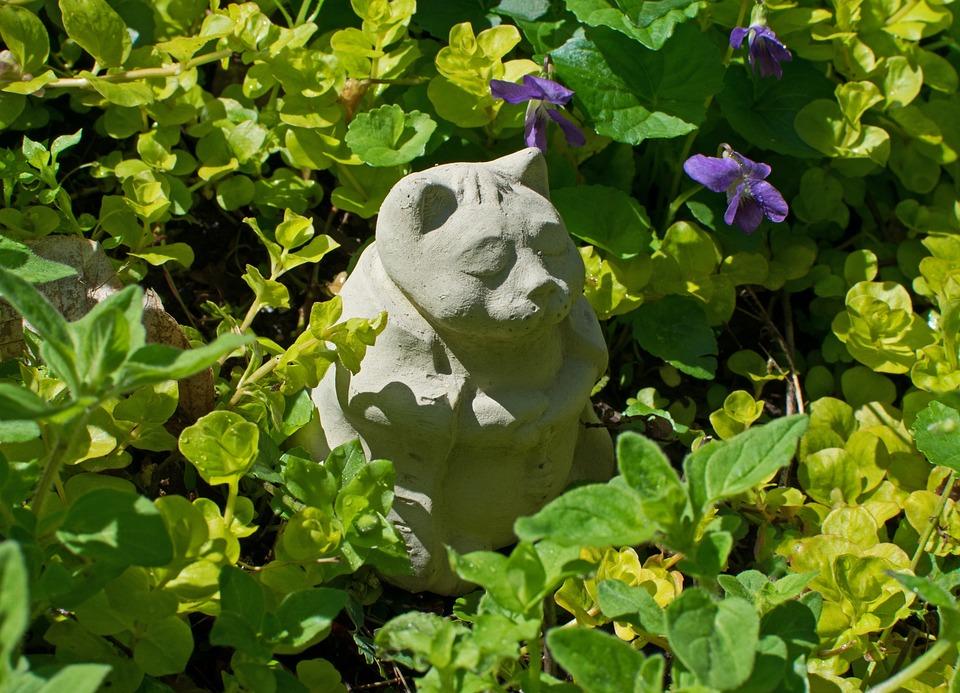Keramik Kunst Für Den Garten katze katzen keramik · kostenloses foto auf pixabay