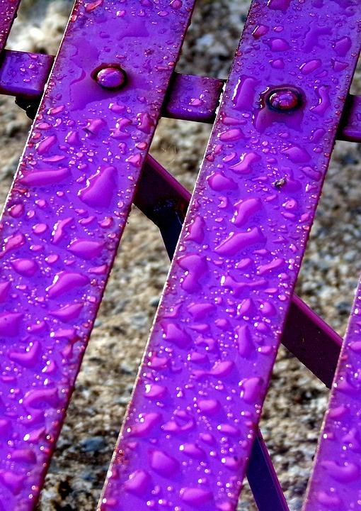 Garten Stuhl Regen Kostenloses Foto Auf Pixabay