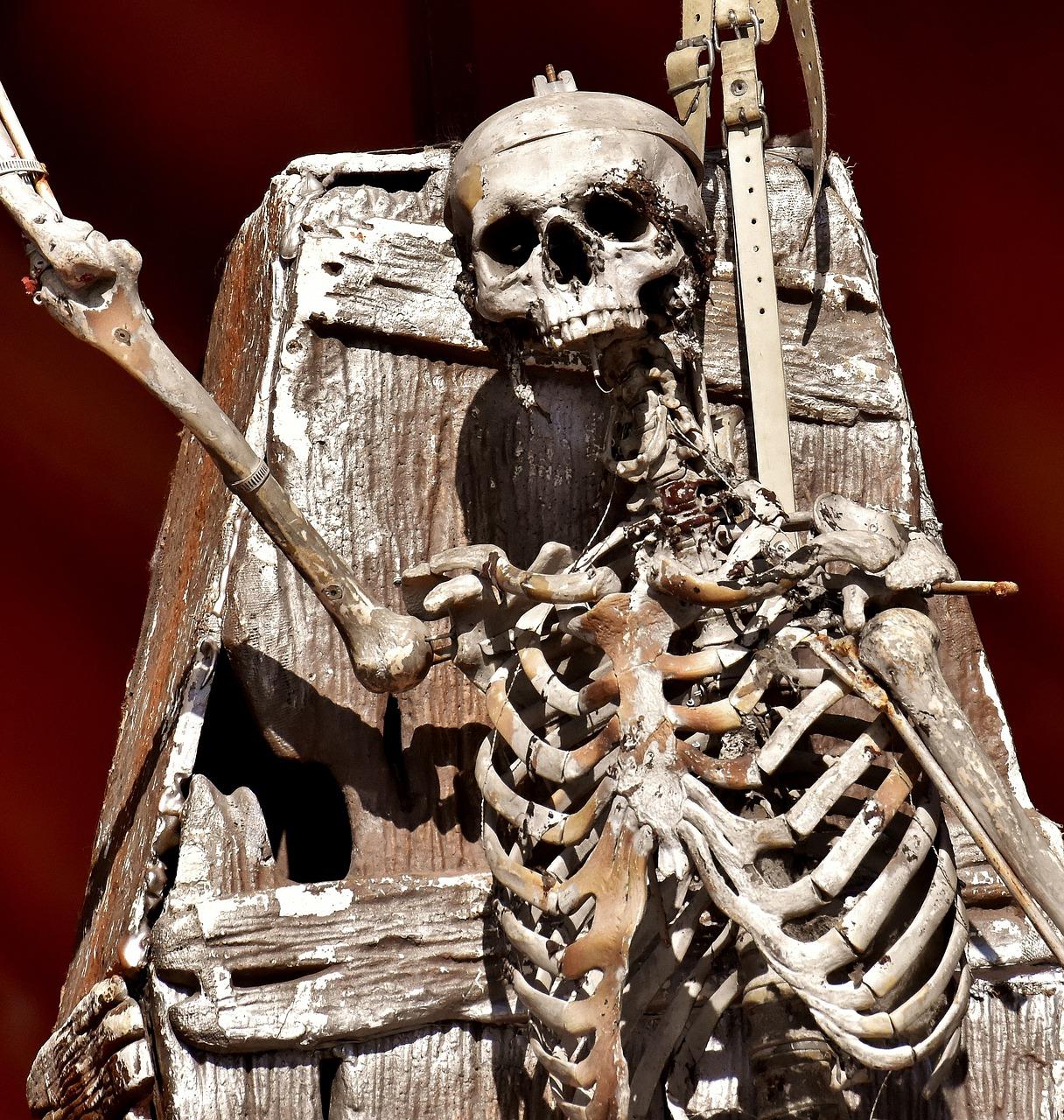 фото скелетов календарь