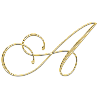 Litera A Letter Capital