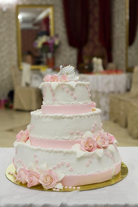 Hochzeit Kuchen Hochzeitstorte Kostenloses Foto Auf Pixabay