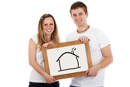 Home, Couple, Mortgage, Real Estate