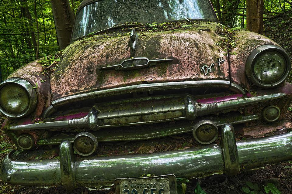 Auto Car Cemetery Oldtimer 183 Free Photo On Pixabay