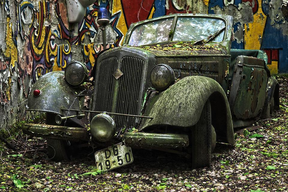 Oto Araba Mezarlığı Oldtimer Pixabayde ücretsiz Fotoğraf