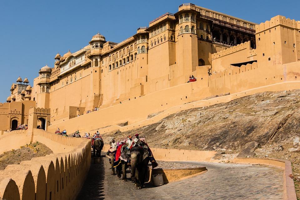 India Jaipur Amber Fort 183 Free Photo On Pixabay
