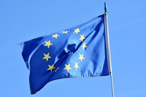 Flag, Europe, Europe Flag, Eu Flag, Star