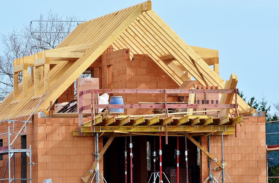 Housebuilding, Site, Construction Work, Construction