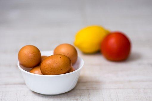 Food, Fruit, Organic Fresh Eggs, Healthy