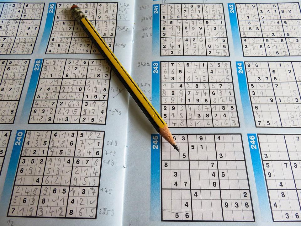 Fritid, Mysterium, Sudoku, Blyant, Rådgive, Svært