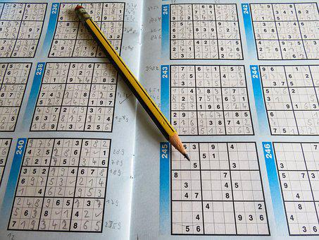 Leisure, Puzzles, Sudoku, Pencil, Rates