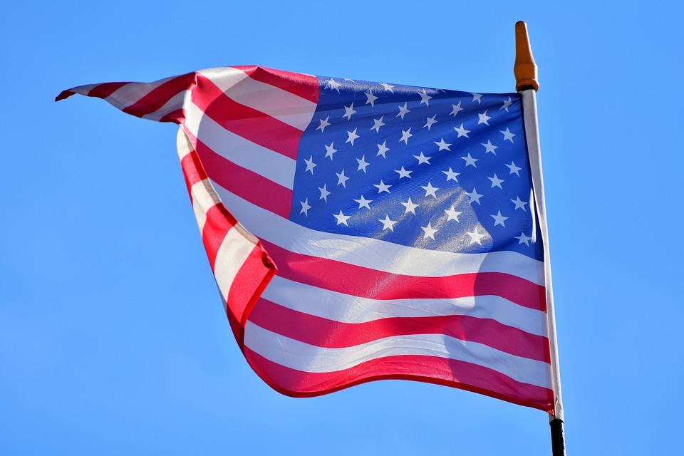 Flag, American Flag, Usa Flag, American, Flutter