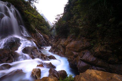 Vietnam, Sa Pa, Lao Cai, The Waterfall