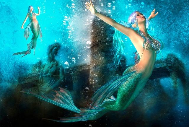 Woman Magical Mermaid  Free Image On Pixabay-4051
