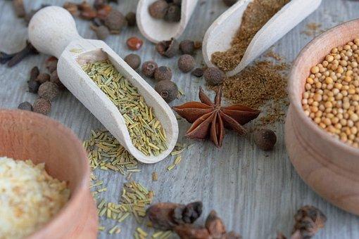 Spices, Spice, Seeds, Krupnyj Plan,Mustard