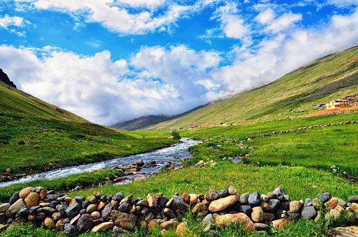 Mountain, Nature, Panoramic, Sky