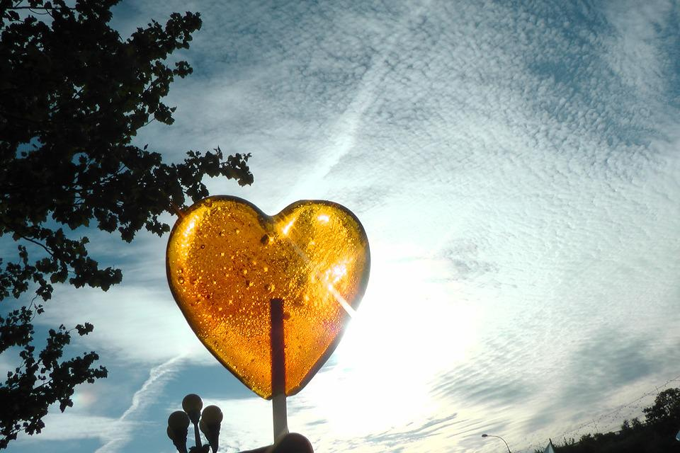 картинка сердечко случайно природа
