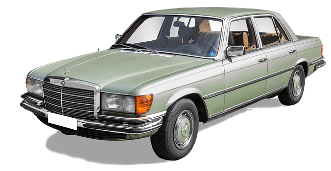 A Mercedes-Benz 280S, Tipo W116