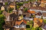 miasta, domy, małe miasteczko