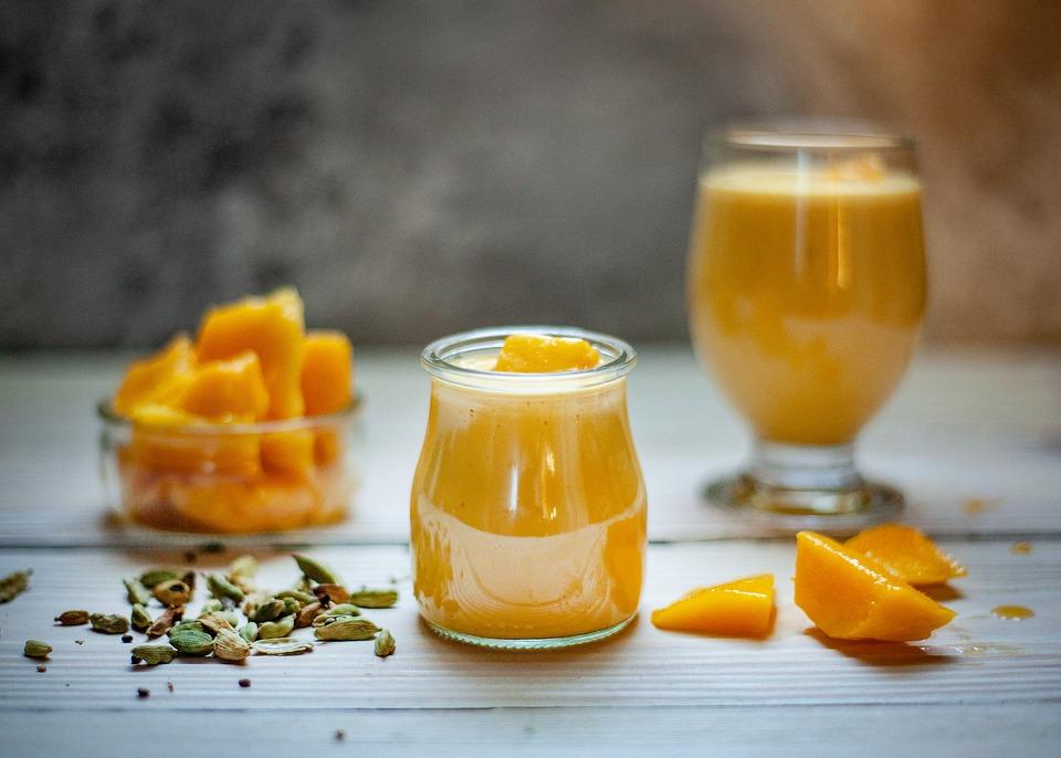 Mango, Drink, Frutti, Dieta, Sano, Smoothie, Cibo