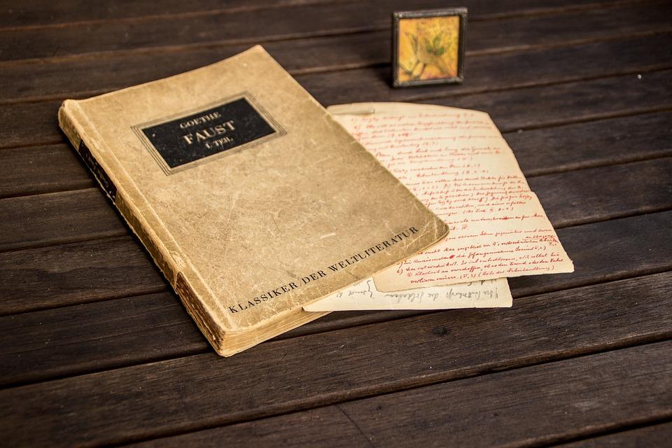 Faust Boek Duitse Gratis Foto Op Pixabay