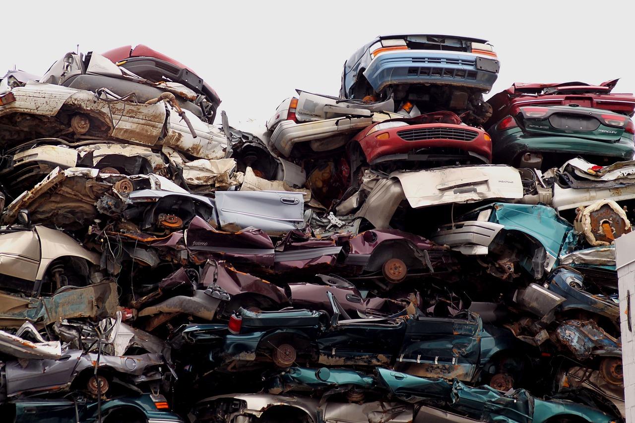 фото автомобильных свалок умерла реанимации