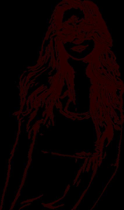 Kız Boyama Kitap Maskeli Pixabayda ücretsiz Vektör Grafik