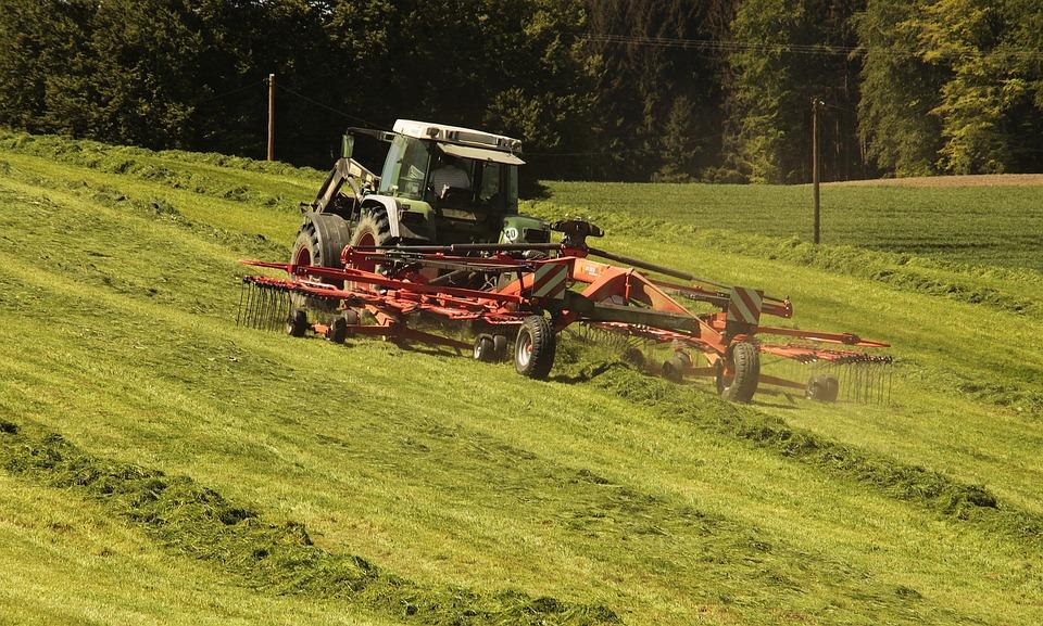 Ciągnika, Rolnictwo, Siano, Ciągniki, Pojazdu