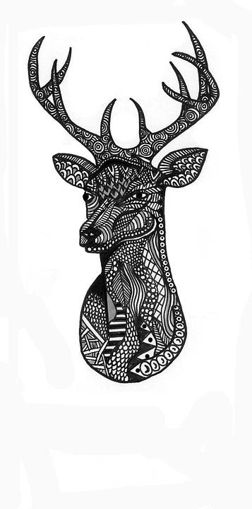 zentangle muster zeichnung - Zentangle Muster