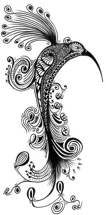 Zentangle Dibujo Imagen Gratis En Pixabay