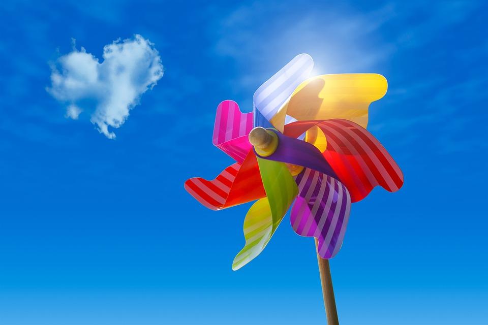 Pinwheel Hemel Wolken - Gratis foto op Pixabay