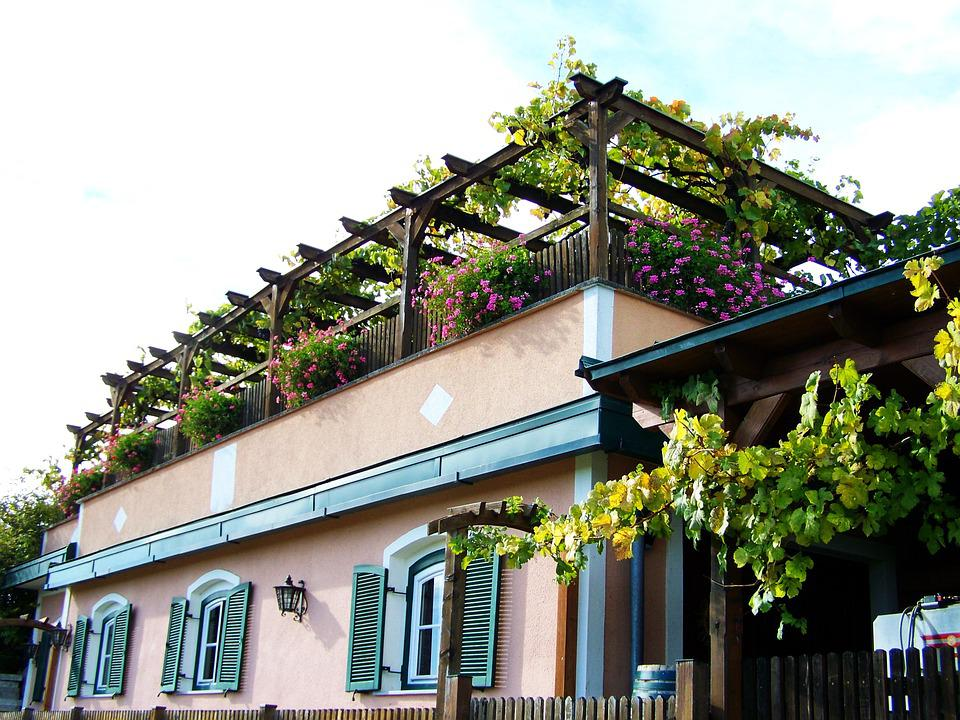 Casa Terraza En El Foto Gratis En Pixabay