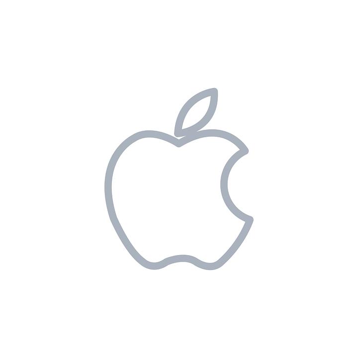 Apfel, Apfelsymbol, Apfellogo, Apple Symbol