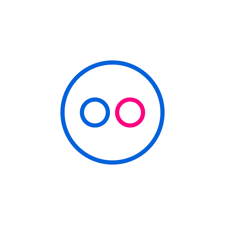 Flickr Icon Logo - Free vector graphic on Pixabay