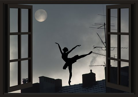 Moon, Moon Addicted, Universe, Ballerina