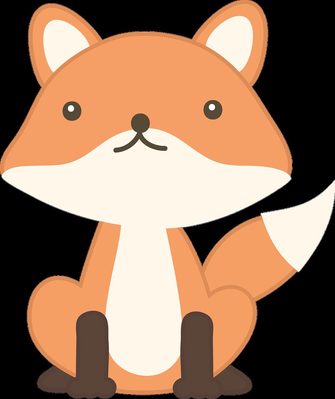 Raposa Animal Selvagem Grafico Vetorial Gratis No Pixabay