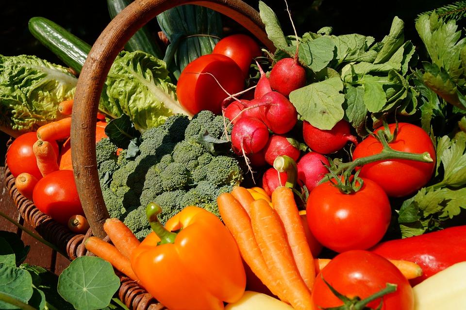 野菜, ベジタリアン, トマト, 食品, ビタミン, 菜食主義者, 食べる, 野菜の市場, 庭, 栄養, 新鮮